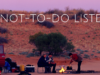 Not-To-Do Liste