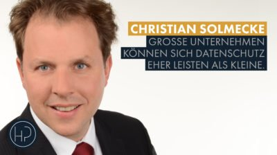 Interview Christian Solmecke